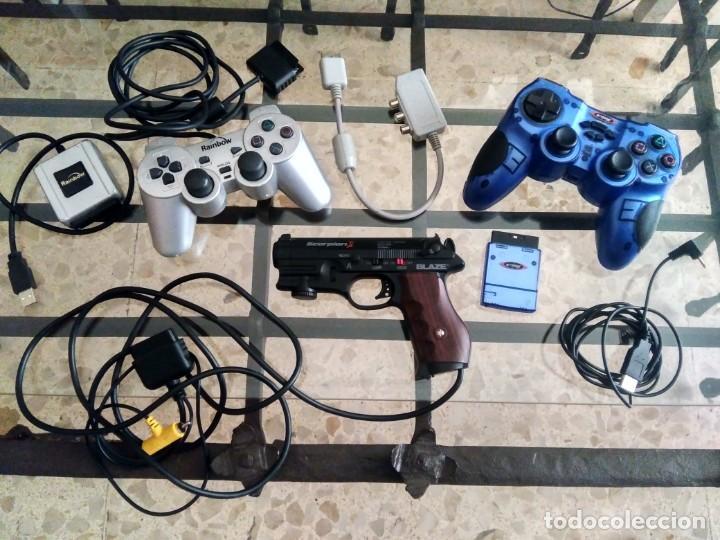 LOTE PARA CONSOLA PLAYSTATION - PISTOLA BLAZE SCORPION II, MANDOS ARDISTEL Y RAINBOW + 6 JUEGOS PC (Juguetes - Videojuegos y Consolas - Otros descatalogados)