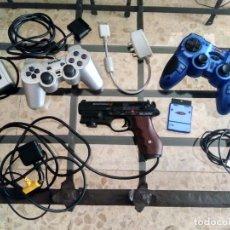 Videogiochi e Consoli: LOTE PARA CONSOLA PLAYSTATION - PISTOLA BLAZE SCORPION II, MANDOS ARDISTEL Y RAINBOW + 6 JUEGOS PC. Lote 215179415