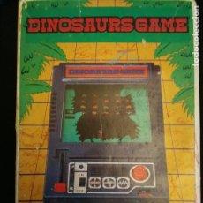 Videojuegos y Consolas: MAQUINITA DINOSAURS GAME YONEZAWA TOYS 1980. Lote 215202052