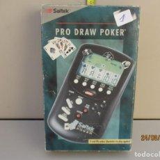 Videojuegos y Consolas: PRO BLACKJACK - JUEGO POCKET COMPUTER DE SAITEK AÑO 1992 - NEW VINTAGE !!!. Lote 215310326