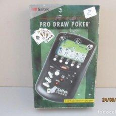 Videojuegos y Consolas: PRO BLACKJACK - JUEGO POCKET COMPUTER DE SAITEK AÑO 1992 - NEW VINTAGE !!!. Lote 215310376