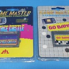 Videojuegos y Consolas: 2 VÍDEO JUEGOS PARA CONSOLA - SPACE CASTLE/GO BANG - GAME MASTER. Lote 215339707
