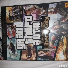 Videojuegos y Consolas: GUIA OFICIAL GRAND THEFT AUTO EPISODES FROM LIBERT CITY. Lote 215491618