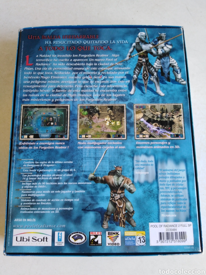Videojuegos y Consolas: Pool of radiance ( dungeons & dragons ) - Foto 2 - 216450367