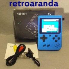 Videojuegos y Consolas: CONSOLA PORTATIL - 400 JUEGOS CLASICOS - NUEVA.. Lote 216941296