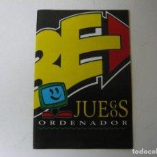 Videojuegos y Consolas: ERBE - DISTRIBUIDOR DE JUEGOS PC / CATÁLOGO OFICIAL / IBM PC / RETRO VINTAGE. Lote 217103842