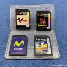Videojogos e Consolas: VIDEOJUEGO - LOTE DE 3 JUEGOS NOKIA N-GAGE + TARJETA DE MEMORIA. Lote 217816606
