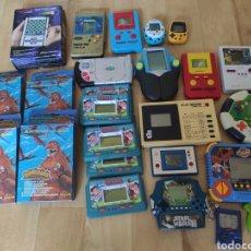Videojuegos y Consolas: LOTE 26 MAQUINITAS, NO GAME WATCH, TIGER, NINTENDO, TRONICA, VARIAS. Lote 217819776