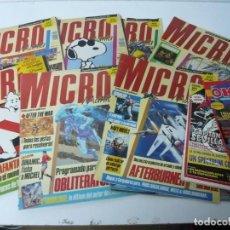 Videojuegos y Consolas: LOTE DE REVISTAS VARIAS - MICROMANÍA, MICROHOBBY Y OK PC. VER FOTOS. NO REVISADAS.. Lote 218312155