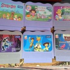 Videojuegos y Consolas: LOTE 6 JUEGOS VTECH EN INGLES. Lote 218324753
