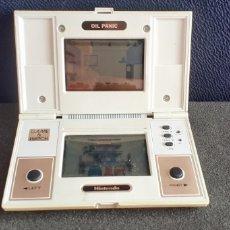 Videojuegos y Consolas: NINTENDO GAME & WATCH OIL PANIC FUNCIONA BIEN. TAL CUAL COMO SE VE EN FOTOS. Lote 218597001