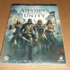 Videojuegos y Consolas: ASSASSINS CREED : UNITY , GUIA OFICIAL PIGGYGAMES, A ESTRENAR.. Lote 218748506