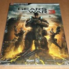 Videojuegos y Consolas: GEARS OF WAR 3 , GUIA OFICIAL BRADYGAMES, A ESTRENAR. Lote 218748602