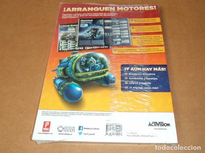 Videojuegos y Consolas: Skylanders : Superchargers , Guia Oficial Prima. a estrenar - Foto 2 - 218749478