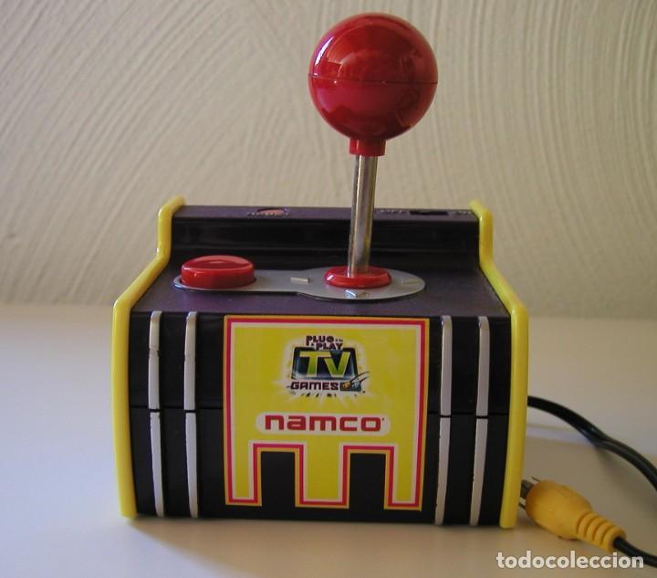 Videojuegos y Consolas: VIDEOCONSOLA NAMCO PARA TV GAMES RETRO ARCADE 5 JUEGOS INCLUYE PAC MAN, GALAXIAN, BASCONIAN, RALLY - Foto 11 - 235164355
