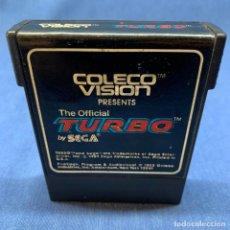 Videojuegos y Consolas: VIDEOJUEGO NINTENDO - CBS COLECO VISION - THE OFICIAL TURBO BY SEGA - 1982. Lote 219402461
