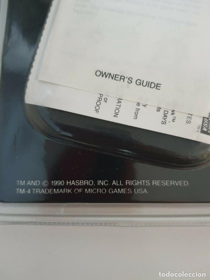 Videojuegos y Consolas: CONSOLA 1990 G.I.JOE MAQUINA LCD HAWK MICRO GAMES USA HASBRO PRECINTADA DESCATALOGADO GIJOE - Foto 3 - 219606840