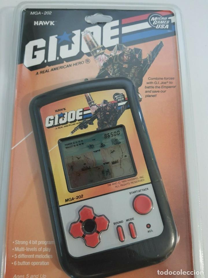 CONSOLA 1990 G.I.JOE MAQUINA LCD HAWK MICRO GAMES USA HASBRO PRECINTADA DESCATALOGADO GIJOE (Juguetes - Videojuegos y Consolas - Otros descatalogados)