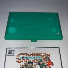 Videojuegos y Consolas: NINTENDO GAME & WATCH BOMB SWEEPER SOLO CARCASA EXTERIOR SUPERIOR Y CHAPA. Lote 219652406