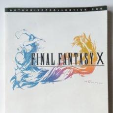 Jeux Vidéo et Consoles: FINAL FANTASY X-LA GUIA DE ESTRATEGIA OFICIAL- 2002- 220 PAG- SQUARESOFT. Lote 219752136