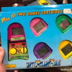 Videojuegos y Consolas: PLAY 10 TWO GAMES CARTRIDGE - INTER CHANGE ABLE. Lote 220540658