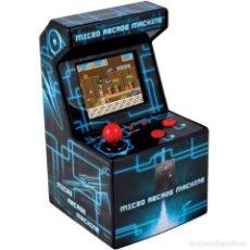 Jeux Vidéo et Consoles: MINI RECREATIVA ARCADE CONSOLA PORTÁTIL DISEÑO RETRO CON 250 JUEGOS /16 BITS ITAL NUEVA - 17.CM ALTO. Lote 220733733