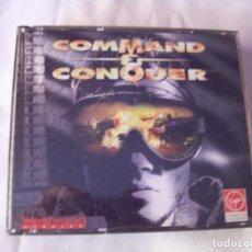Videojuegos y Consolas: COMAND AND CONQUER - JUEGO PARA PC -ROM COMPLETO - ESPAÑOL - WESTWOOD 1995. Lote 220959576