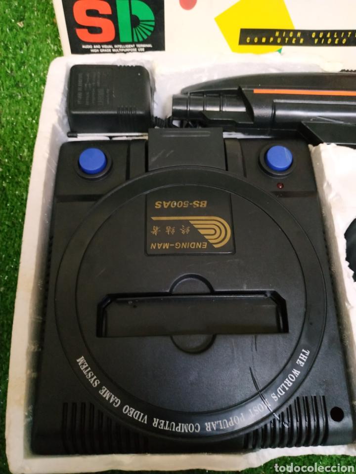 Videojuegos y Consolas: Consola Terminator 2 ending- man 8 bit seminueva super design completa made in Japan - Foto 6 - 221286240
