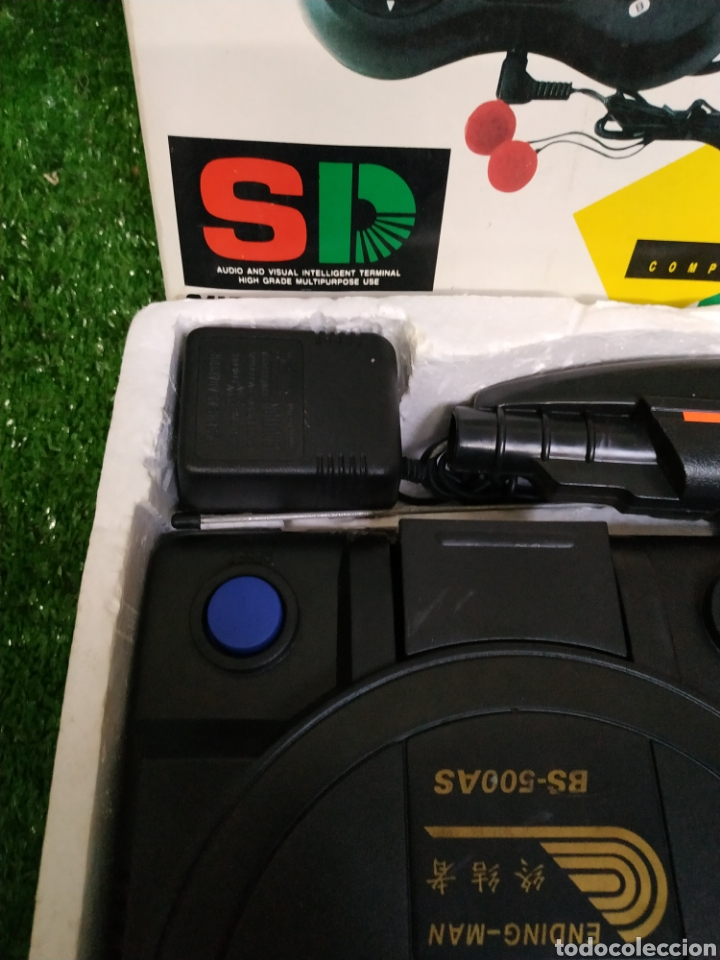 Videojuegos y Consolas: Consola Terminator 2 ending- man 8 bit seminueva super design completa made in Japan - Foto 7 - 221286240