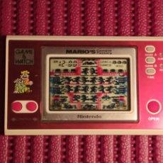 Jeux Vidéo et Consoles: NINTENDO GAME & WATCH. MARIO'S CEMENT FACTORY. 1983.. Lote 221402852