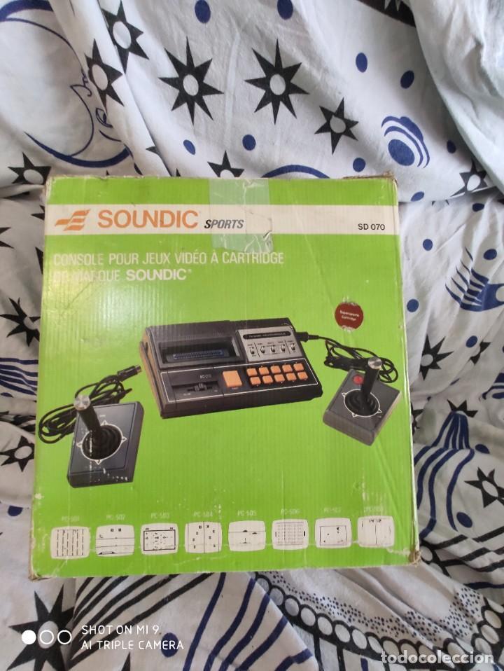 CONSOLA SOUNDIC SPORTS, PERFECTA, SIN USO, COMPLETA. (Juguetes - Videojuegos y Consolas - Otros descatalogados)