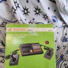 Videojuegos y Consolas: CONSOLA SOUNDIC SPORTS, PERFECTA, SIN USO, COMPLETA.. Lote 221416073