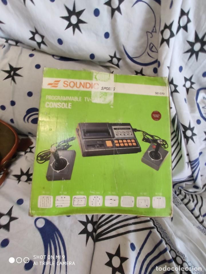 Videojuegos y Consolas: CONSOLA SOUNDIC SPORTS, PERFECTA, SIN USO, COMPLETA. - Foto 3 - 221416073