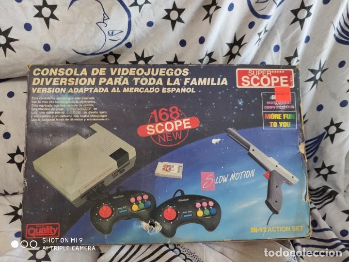 CONSOLA SUPER SCOPE 168,VINTAGE, SIN JUEGO. FUNCIONA. (Juguetes - Videojuegos y Consolas - Otros descatalogados)