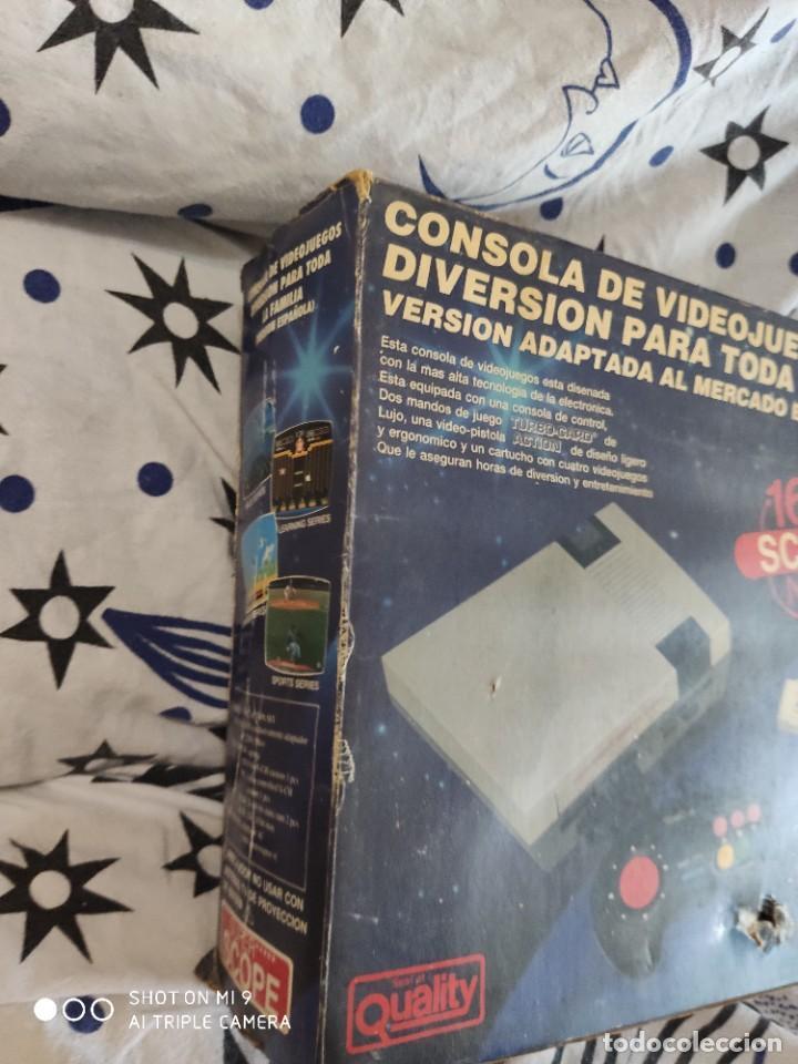 Videojuegos y Consolas: CONSOLA SUPER SCOPE 168,VINTAGE, SIN JUEGO. FUNCIONA. - Foto 4 - 221416478