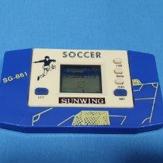 Videojuegos y Consolas: MAQUINITA LCD - SOCCER SG-861 - SUNWING VER Y LEER. Lote 221538582