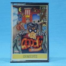 Videojuegos y Consolas: JUEGO GOODY PARA SPECTRUM - OPERA SOFT. Lote 221542557