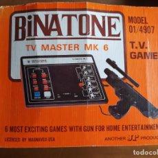 Videojuegos y Consolas: CONSOLA BINATONE TV MASTER MK 6. Lote 221578240