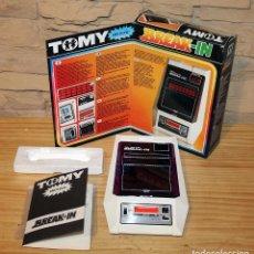 Jeux Vidéo et Consoles: ANTIGUA MAQUINITA BREAK-IN, DE TOMY - NUEVA - FUNCIONANDO - CON CAJA E INSTRUCCIONES - MADE IN JAPAN. Lote 221807136