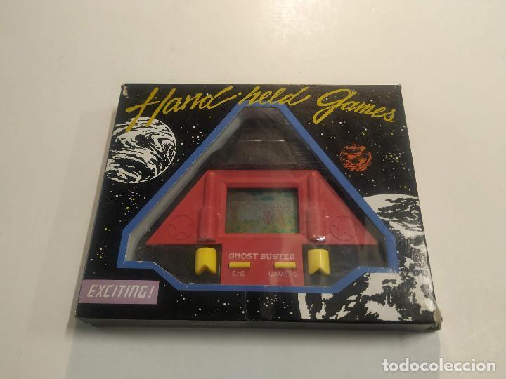 HAND HELD GAMES - GHOST BUSTER - CON CAJA (Juguetes - Videojuegos y Consolas - Otros descatalogados)