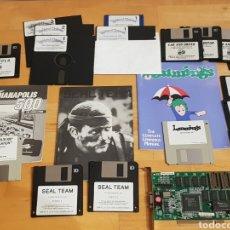 Videojuegos y Consolas: JUEGOS PC JUEGO DRACULA MEDIEVAL WARRIORS SEAL TEAM Y MAS TIPO AMSTRAD SPECTRUM GRAN LOTE. Lote 222277712