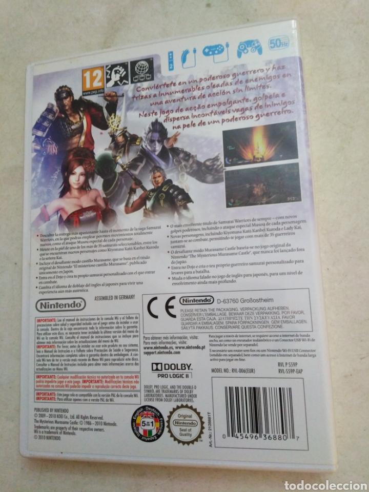 Videojuegos y Consolas: Samurai warriors 3 ( juego wii ) - Foto 2 - 222385401