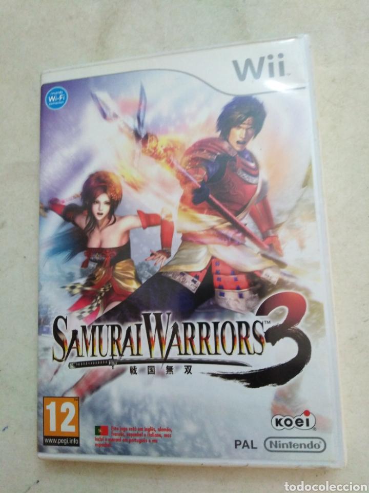 SAMURAI WARRIORS 3 ( JUEGO WII ) (Juguetes - Videojuegos y Consolas - Otros descatalogados)