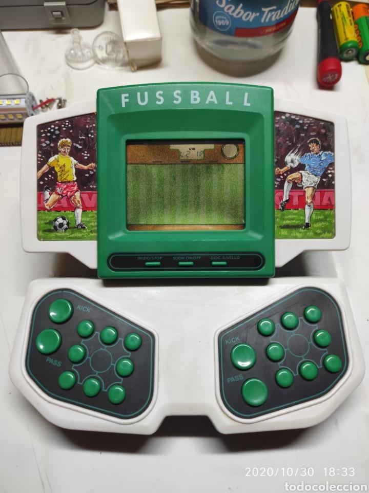CONSOLA LCD FUSSBALL (Juguetes - Videojuegos y Consolas - Otros descatalogados)