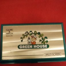 Videojuegos y Consolas: MAQUINITA GREEN HOUSE NINTENDO GAME AND WATCH. Lote 223527121