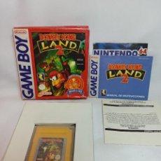Videojuegos y Consolas: JUEGO GONKEY KONG NINTENDO CLASSICS GAME BOY COMPLETO. Lote 223669181