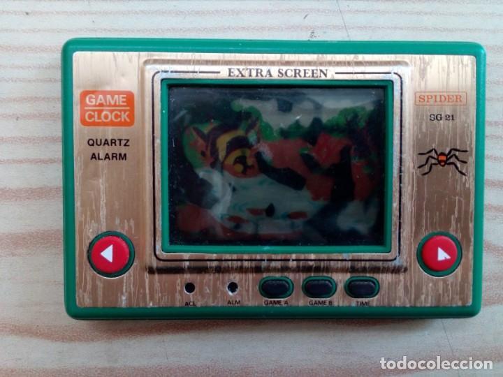 GAME AND WATCH SPIDER - NO FUNCIONA (Juguetes - Videojuegos y Consolas - Otros descatalogados)