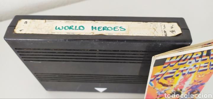 Videojuegos y Consolas: World heroes neo geo videojuego consola - Foto 2 - 224442902