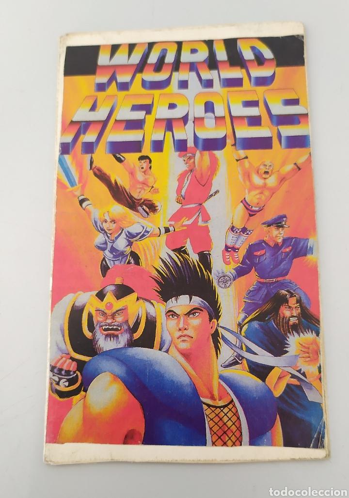 Videojuegos y Consolas: World heroes neo geo videojuego consola - Foto 5 - 224442902