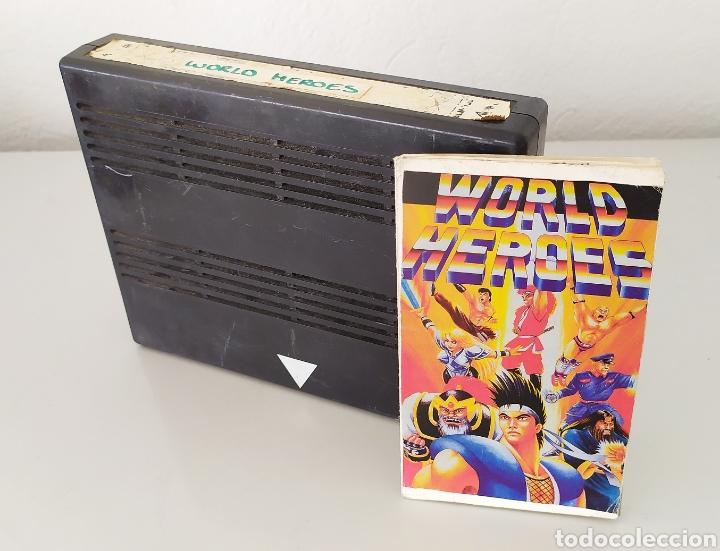 WORLD HEROES NEO GEO VIDEOJUEGO CONSOLA (Juguetes - Videojuegos y Consolas - Otros descatalogados)